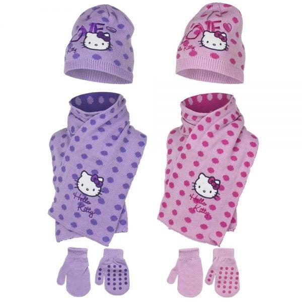 Hello Kitty Baby; lue, votter & skjerf