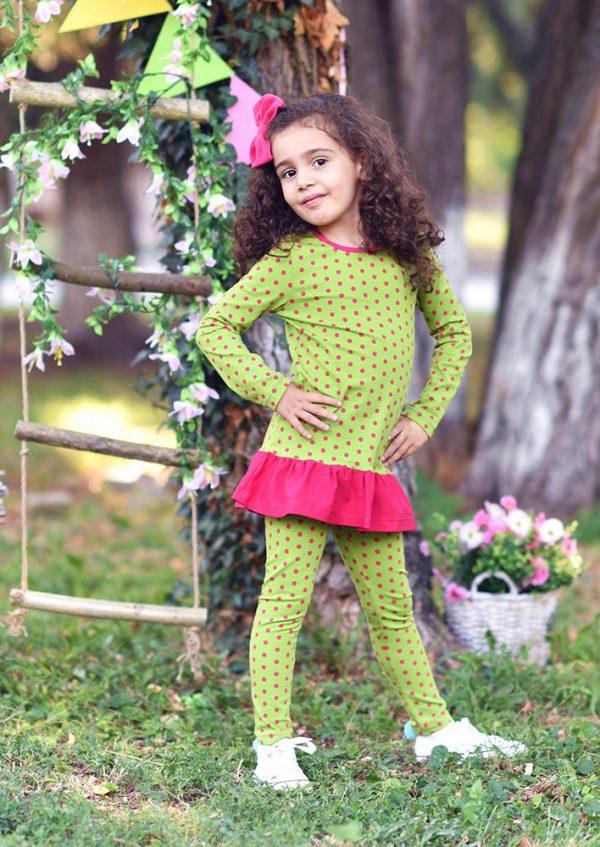 Tunika og leggings, sett