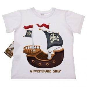T-skjorte - Sjørøverskip