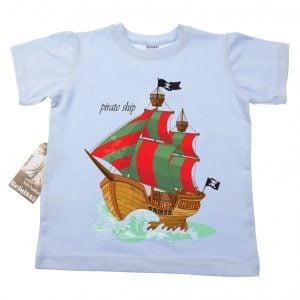 T-skjorte - Sjørøverskute - Pirate ship