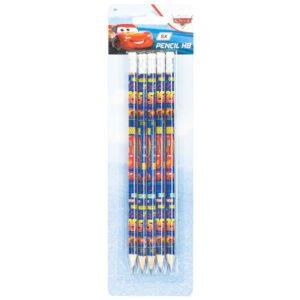 Biler blyanter sett