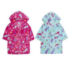 Badekåper barn sjøhester