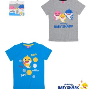 Baby Shark t-skjorte grå