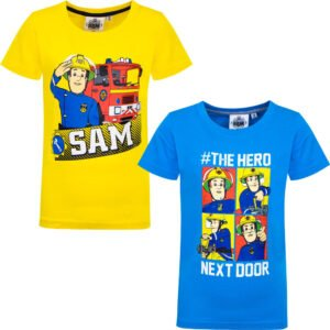 Brannmann Sam Hero next door t-skjorter