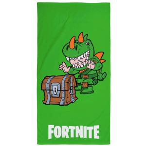 Fortnite badehåndkle grønn