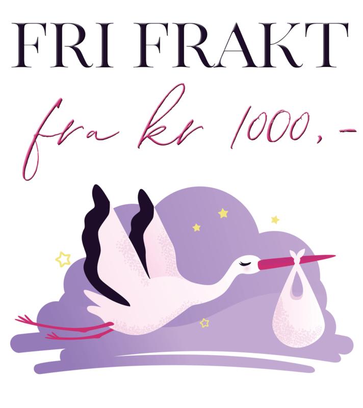 Fri frakt fra kr 1000