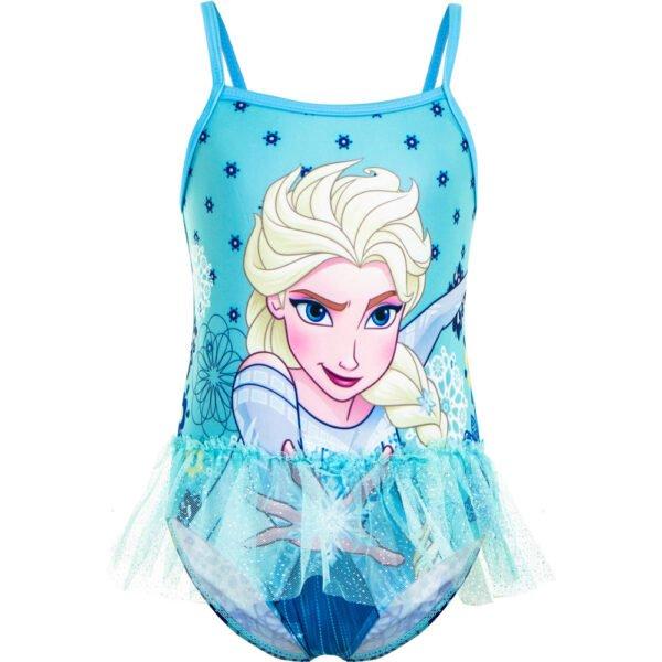 Frost Elsa badedrakt m glitterskjørt