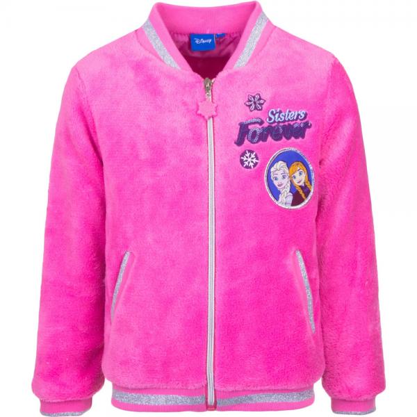 """Frozen fleecejakke """"Sisters forever"""", rosa"""