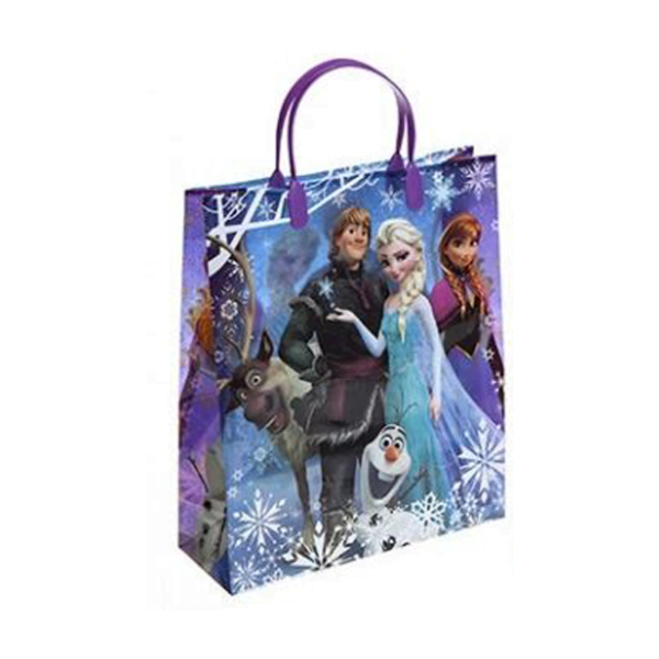 Frozen gavepose blå stor