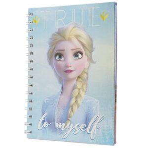 Frozen metallisk notatbok