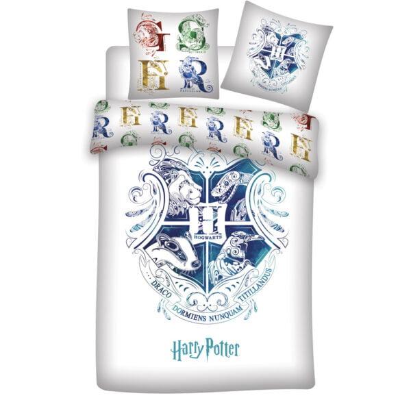 Harry Potter sengesett hvit og blå