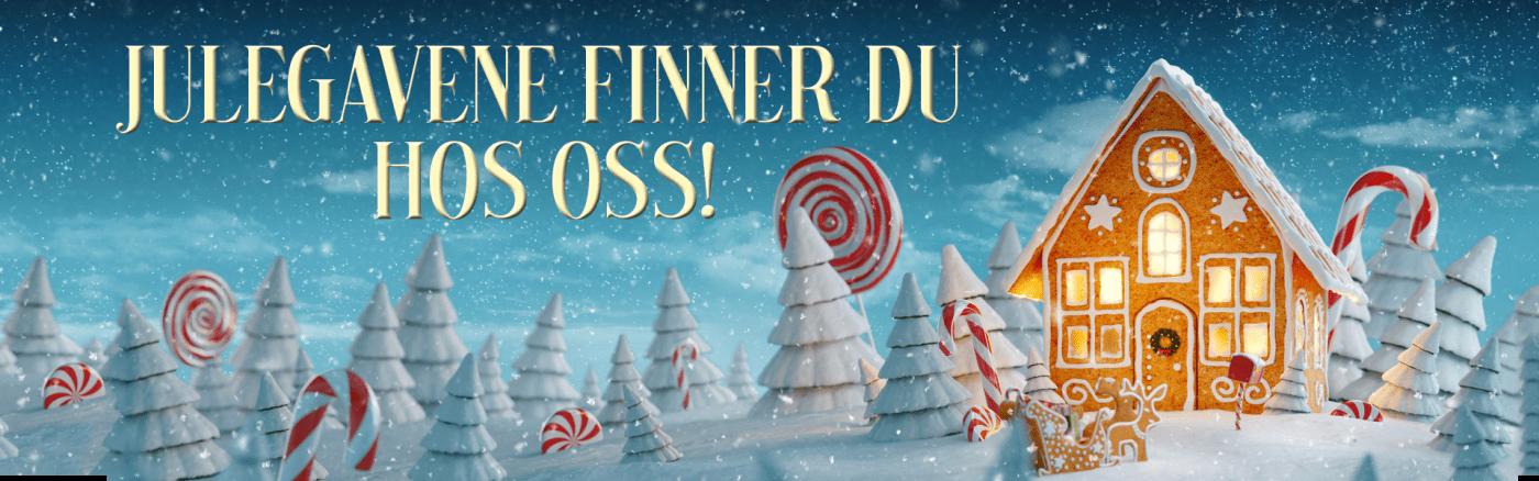 Julegavene finner du hos oss
