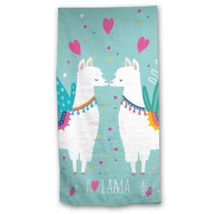 Lama badehåndkle