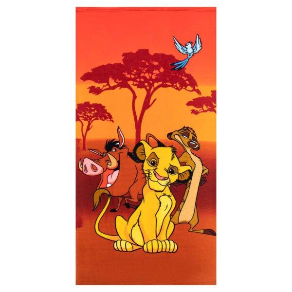Løvenes Konge badehåndkle