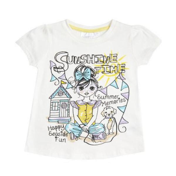 Minikidz tskjorte Sunshine time