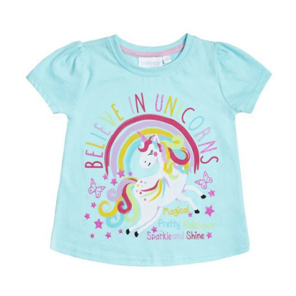 Minikidz tskjorte Believe in unicorns