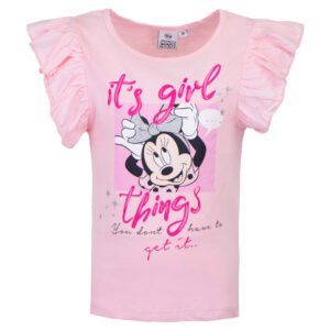 Minni Mus t-skjorte rosa