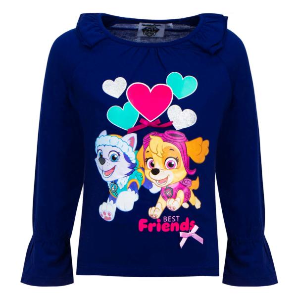 PawPatrol rysjegenser Best Friends blå