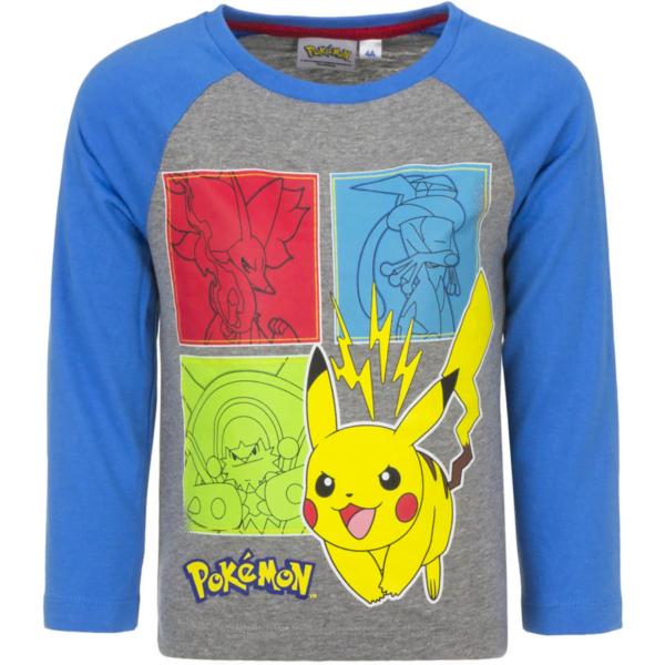 Pokémon genser gråblå