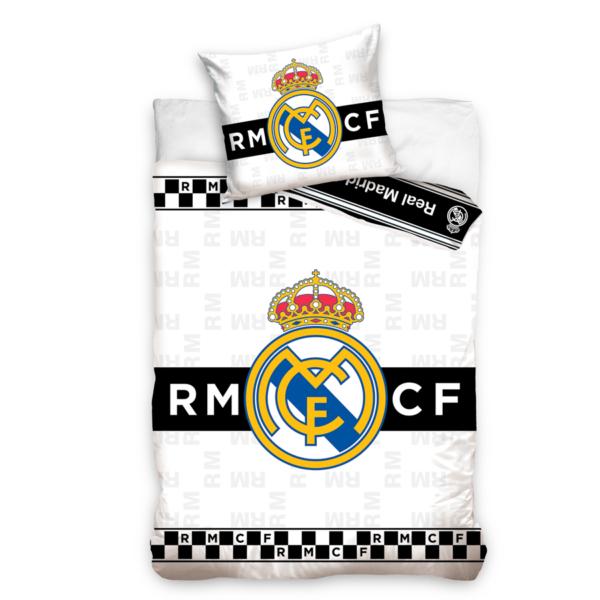Real Madrid sengesett Svart hvit