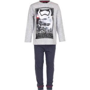 Star Wars pysjamas grå