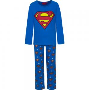 Superman_pysjamas_blåbla