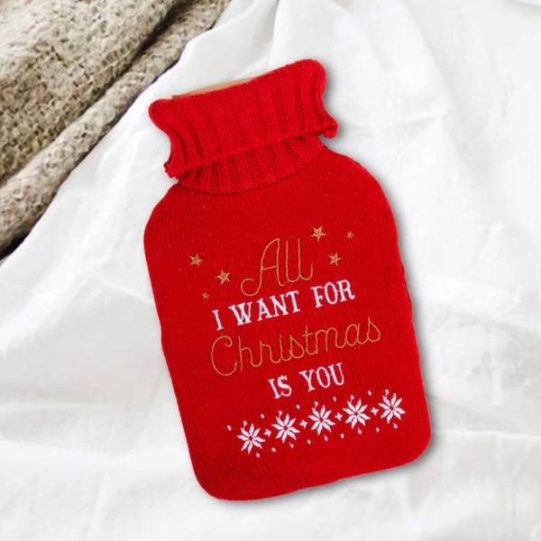 Varmeflaske All I want for Christmas