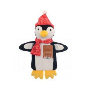 Varmeflaske_jul_pingvin