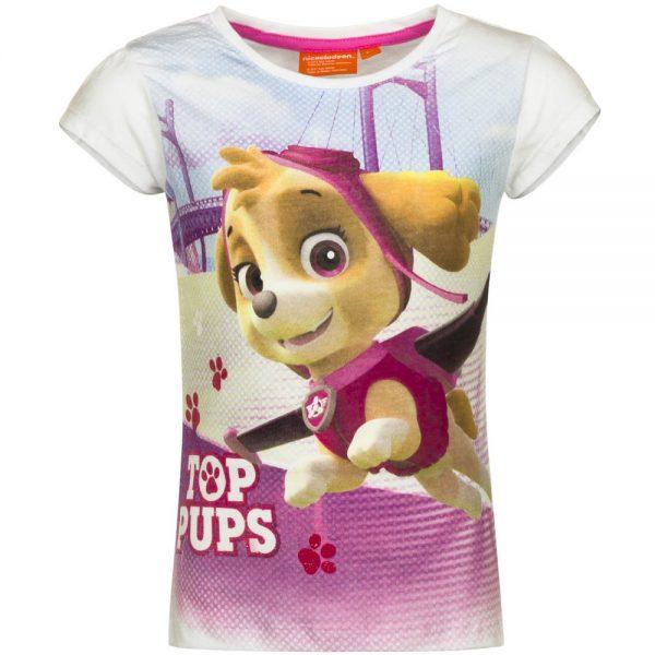 paw patrol t-skjorte top pups