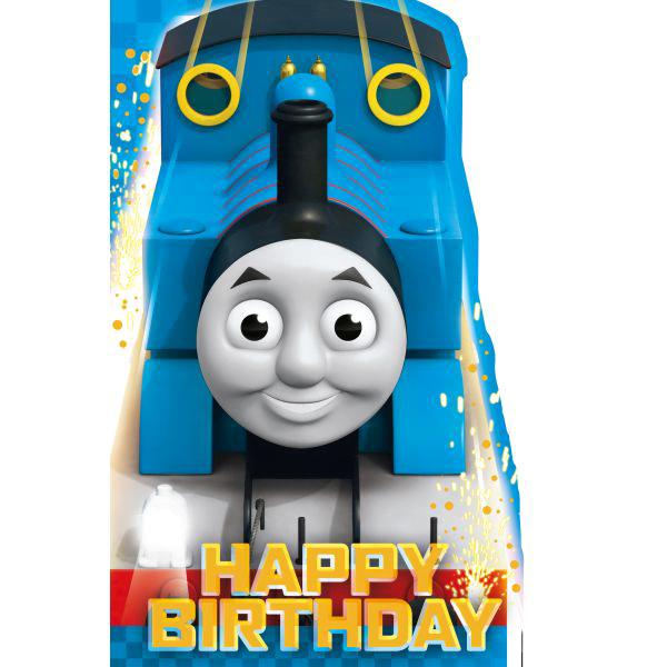 Thomas toget bursdagskort