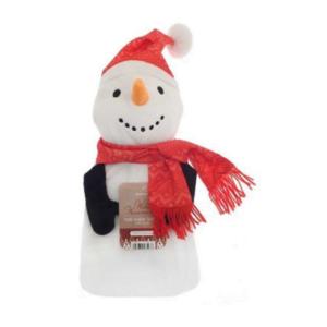 Varmeflaske snømann