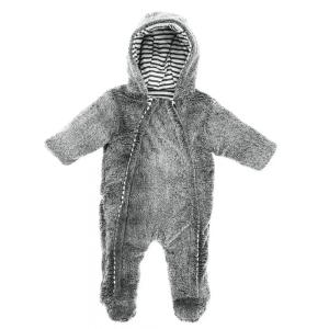 Vinterdress baby grå